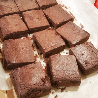 A dozen London Keto Brownies (available on request)